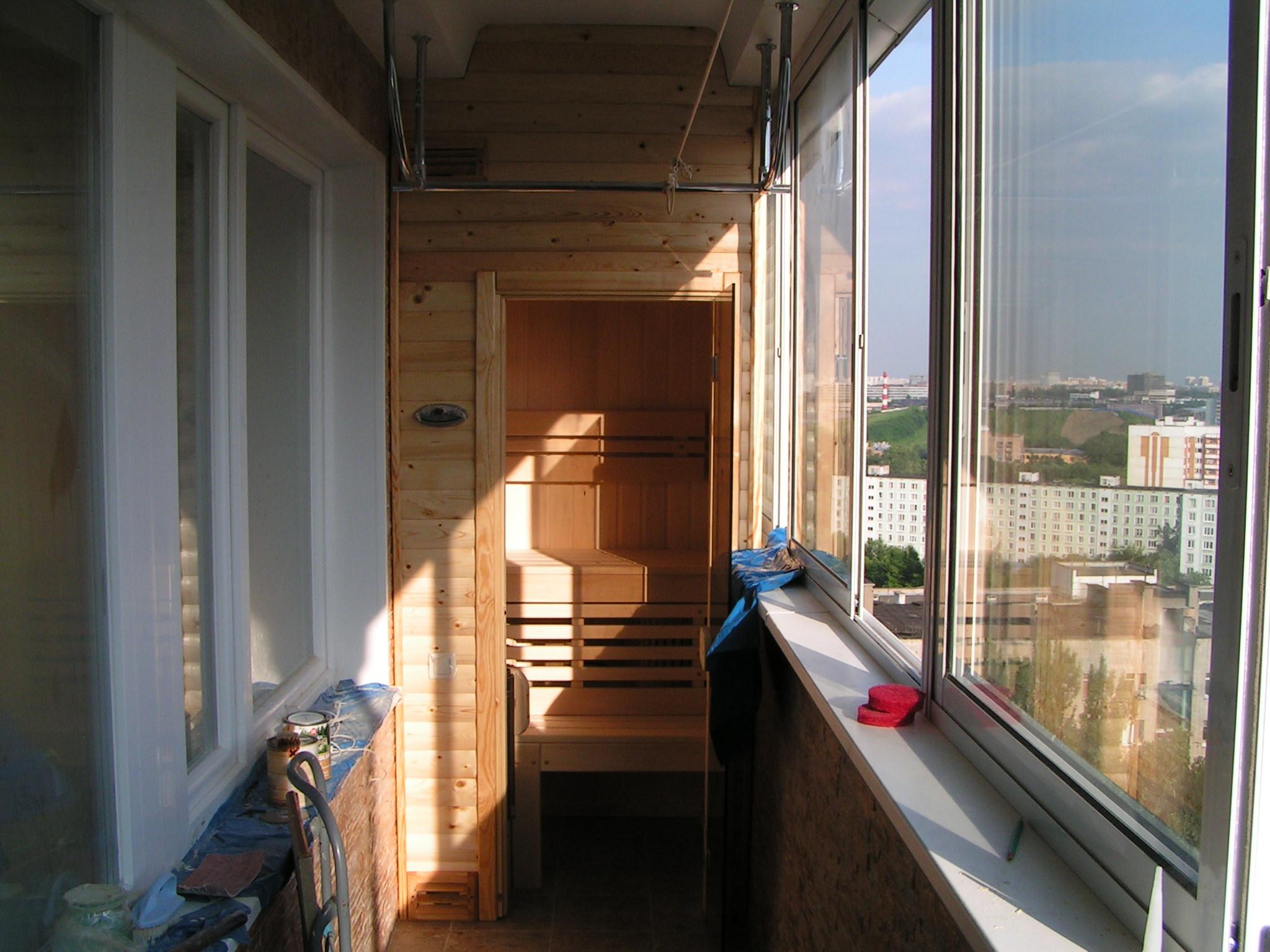 Обустройство балконов и лоджий фото..